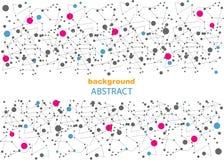 Fondo abstracto con los modelos geométricos, para la página web y el diseño Fotografía de archivo libre de regalías