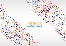 Fondo abstracto con los modelos geométricos, para la página web y el diseño Foto de archivo