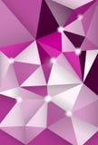 Fondo abstracto con los polígonos Imagen de archivo libre de regalías