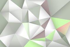 Fondo abstracto con los polígonos Foto de archivo