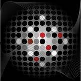 Fondo abstracto con los puntos Imagen de archivo