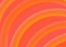 Fondo abstracto con los semicírculos anaranjados Fotos de archivo