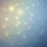 Fondo abstracto con los triángulos Imagen de archivo