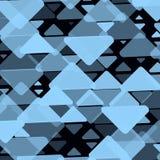 Fondo abstracto con los triángulos Ejemplo ligero geométrico del vector de la moda Fotos de archivo