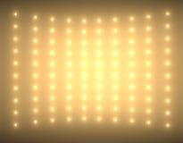 Fondo abstracto con pequeñas luces tenues Fotografía de archivo