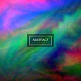 Fondo abstracto con textura colorida del moaré ilustración del vector