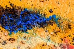 Fondo abstracto con textura líquida del color Fotos de archivo libres de regalías