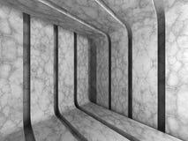Fondo abstracto concreto oscuro del modelo de la raya de la arquitectura Imagenes de archivo