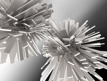 Fondo abstracto cristalino Imágenes de archivo libres de regalías
