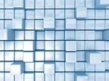 Fondo abstracto - cubos Fotografía de archivo libre de regalías