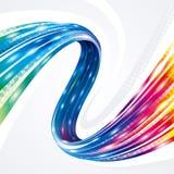 Fondo abstracto de banda ancha de la conexión de la tecnología