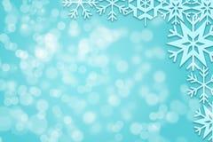 Fondo abstracto de Bokeh de la Navidad Fotos de archivo libres de regalías