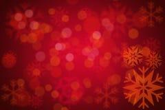 Fondo abstracto de Bokeh de la Navidad Foto de archivo libre de regalías