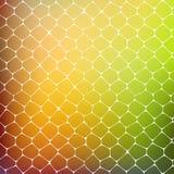 Fondo abstracto de células coloreadas Imágenes de archivo libres de regalías