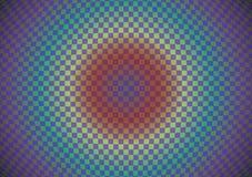 Fondo abstracto de células convexas ilustración del vector