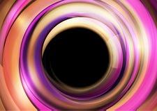 Fondo abstracto de círculos ilustración del vector