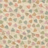 Fondo abstracto de corazones Imágenes de archivo libres de regalías