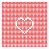 Fondo abstracto de corazones Foto de archivo