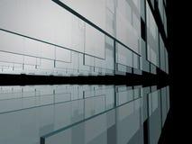 Fondo abstracto de cristal Foto de archivo libre de regalías