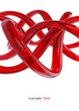 Fondo abstracto de cristal rojo ilustración del vector