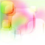 Fondo abstracto de cuadrados Imagen de archivo