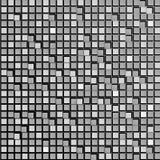 Fondo abstracto de cuadrados grises Papeles pintados para los sitios web Los pequeños rectángulos están conectados Nuevas tecnolo Foto de archivo
