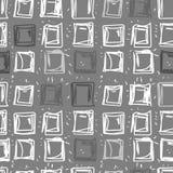 Fondo abstracto de cuadrados Modelo inconsútil rectangular adentro Imágenes de archivo libres de regalías
