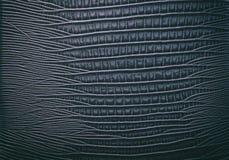 Fondo abstracto de cuero azul Foto de archivo libre de regalías