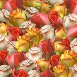 Fondo abstracto de flores EPS 10 Fotos de archivo libres de regalías