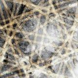 Fondo abstracto de Grunge con los carteles rasgados viejos Foto de archivo