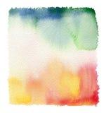 Fondo abstracto de la acuarela Foto de archivo libre de regalías