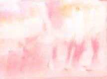 Fondo abstracto de la acuarela Fotografía de archivo libre de regalías