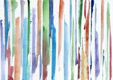 Fondo abstracto de la acuarela Fotos de archivo