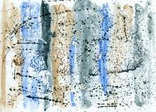 Fondo abstracto de la acuarela Imágenes de archivo libres de regalías