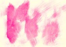 Fondo abstracto de la acuarela Fotografía de archivo