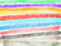 Fondo abstracto de la acuarela de la tira Imagen de archivo libre de regalías