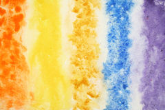 Fondo abstracto de la acuarela en la textura de papel Imágenes de archivo libres de regalías