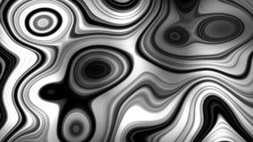 Fondo abstracto de la animación de la forma de onda con los colores blancos y negros libre illustration