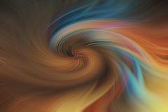 Fondo abstracto de la bella arte Modelo coloreado multi del remolino fotografía de archivo