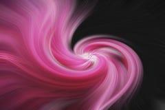 Fondo abstracto de la bella arte Modelo rosado y negro fotografía de archivo libre de regalías