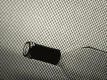Fondo abstracto de la botella de vino Fotos de archivo libres de regalías