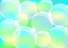 Fondo abstracto de la burbuja Ilustración del Vector