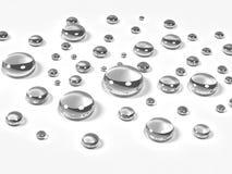 Fondo abstracto de la burbuja stock de ilustración