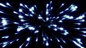Fondo abstracto de la cantidad del flujo de la partícula libre illustration