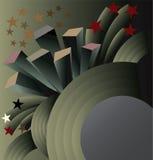Fondo abstracto de la ciudad. Foto de archivo libre de regalías