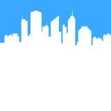 Fondo abstracto de la ciudad ilustración del vector