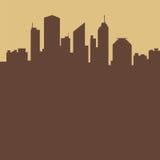 Fondo abstracto de la ciudad stock de ilustración