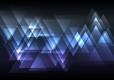 Fondo abstracto de la coincidencia del triángulo Fotos de archivo libres de regalías