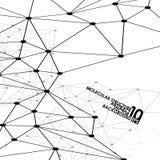 Fondo abstracto de la DNA Imágenes de archivo libres de regalías