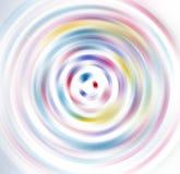 Fondo abstracto de la falta de definici?n de movimiento radial del c?rculo de la vuelta foto de archivo